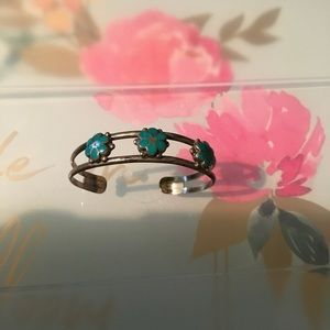 Jewelry - Native American bracelet turquoise flowers child's